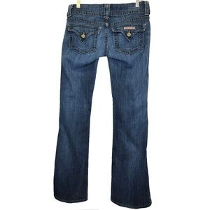 Hudson Signature Boot Cut Jeans Flap Pocket 26